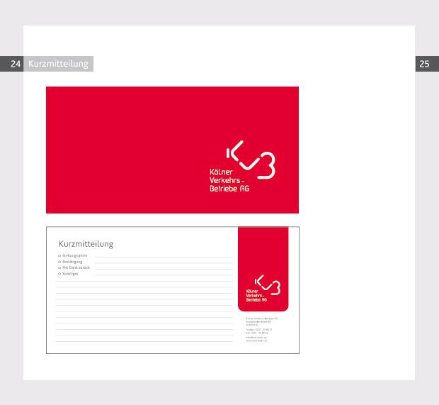 Corporate Design - Logo - KVB Kölner Verkehrsbetriebe