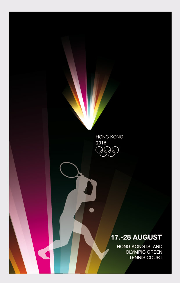 Plakat Olympic Games Hong Kong