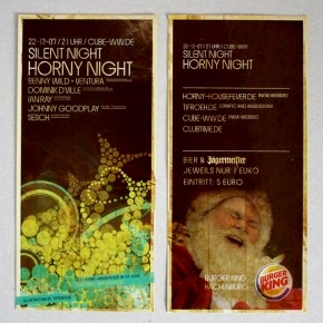 Eventflyer - Horny Night 2007