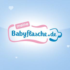 MeineBabyflasche.de Onlineshop - Webdesign und Logogestaltung